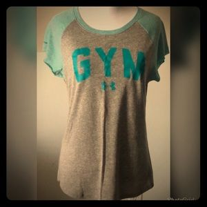 "Under Armour ""Gym"" Heat Gear T-Shirt"